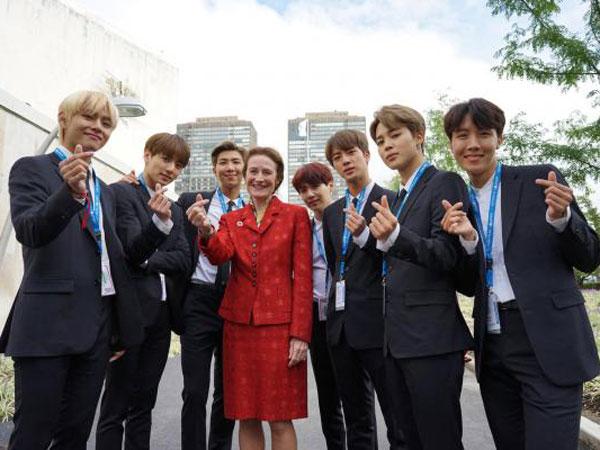 Kampanye BTS 'Love Myself' Dapat Penghargaan UNICEF