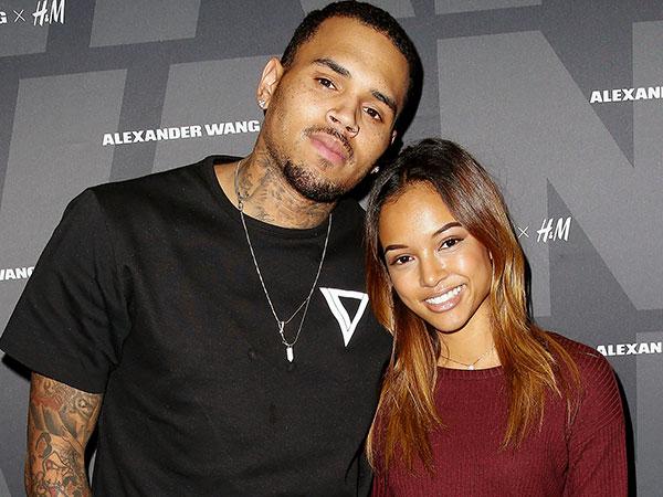 Terkejut Pacarnya Punya Anak, Karrueche Tran Hindari Chris Brown