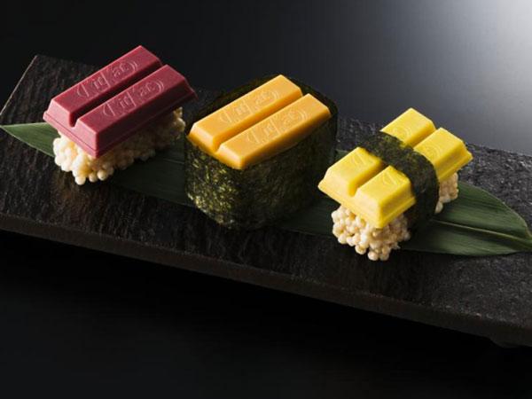 Yummy, Kitkat Luncurkan Varian Cokelat Sushi yang Gurih