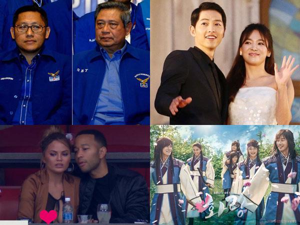 Cuitan Anas untuk SBY Hingga Adegan Mandi 'Hwarang', Inilah Berita 'Termenarik' di Minggu Ini