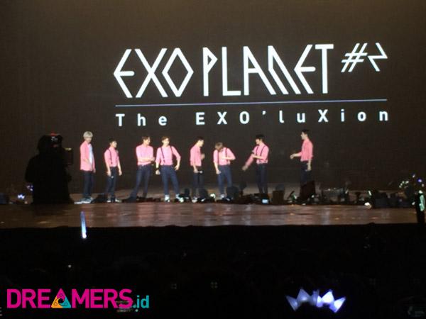Meski Kurang Satu Member, EXO Berikan Aksi Panggung Terbaik Untuk EXO-L Indonesia!