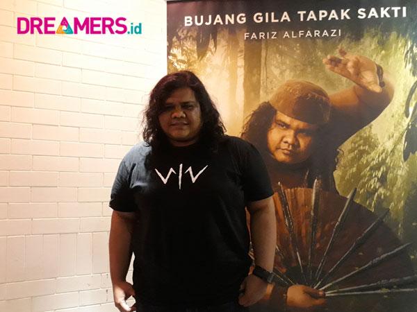 Spesial Dreamers.id: Cerita Fariz Alfarazi Bawakan Karakter Bujang di Film 'Wiro Sableng 212'