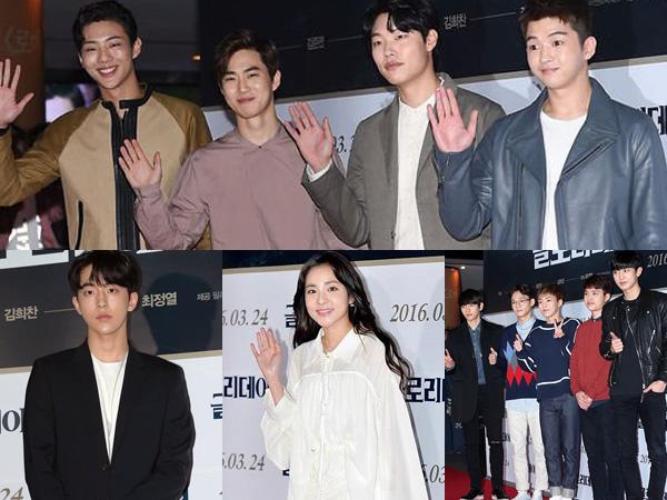 EXO Hingga Nam Joo Hyuk, Para Selebriti Ternama Hadiri Premier VIP Film 'Glory Day'