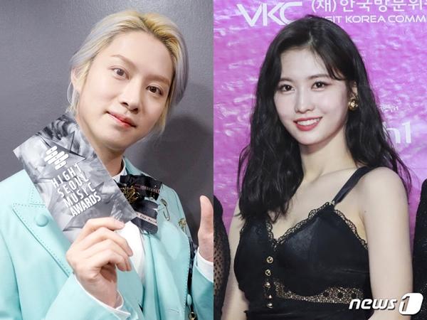 Perdana Hadir di Acara Sama, Heechul - Momo TWICE Diisengin Shin Dong Yup dan Fans