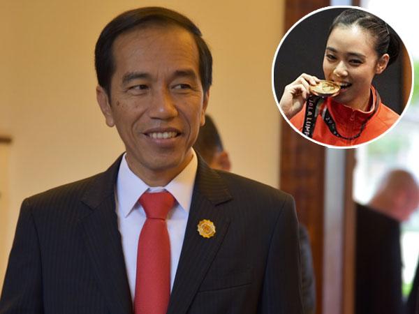 Pujian Presiden Jokowi untuk Lindswell Kwok, Atlet Wushu Indonesia yang Cantik dan Berprestasi