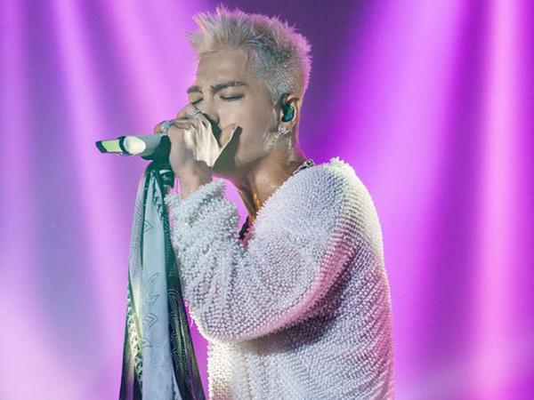 Taeyang Sukses 'Bayar' Kerinduan Fans Lewat Konser Solo 'White Night in Jakarta'!