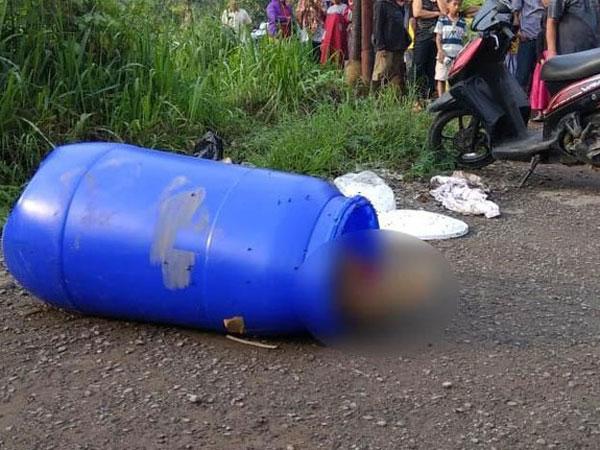 Terungkap Identitas Mayat yang Heboh Ditemukan Warga di Dalam Drum di Klapanunggal Bogor