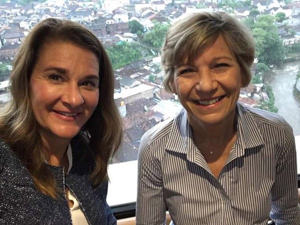 Bersahaja dan Luput dari Media, Istri Orang Terkaya Dunia Berkunjung ke Yogyakarta