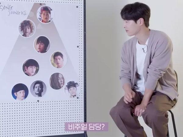 Kocaknya Song Joong Ki Saat Bentuk Idol Group dengan Karakternya, Siapa Jadi Leader?