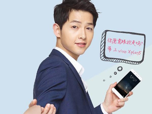 Kontrak Dibatalkan Sepihak, Song Joong Ki Dicopot Dari Model Ponsel Tiongkok