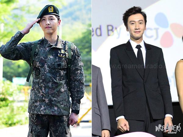 Selama Wamil, Song Joong Ki Lebih Semangat Nonton Lee Kwang Soo daripada Girlband!