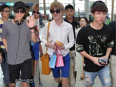 Ke Jakarta, Infinite Bergaya Summer Fashion di Bandara
