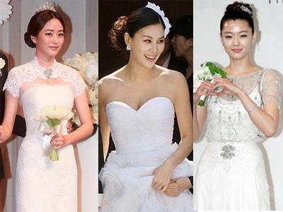 Gaun Pengantin Seleb Korea Terbaik Dan Terburuk