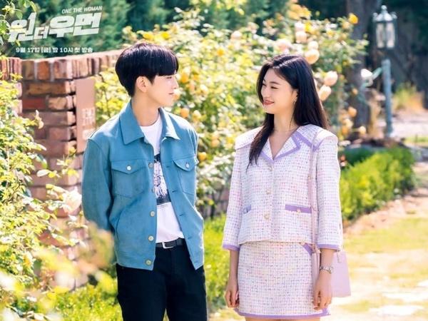 Younghoon The Boyz dan Kim Doyeon Weki Meki Jadi Cinta Pertama di Drama 'One The Woman'