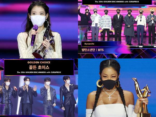 IU Raih Daesang, Inilah Daftar Pemenang 35th Golden Disc Awards Hari Pertama