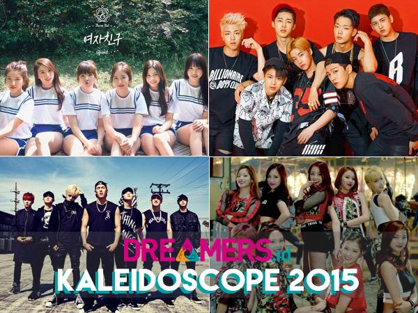 Inilah 7 Grup K-Pop Rookie Paling Bersinar di Tahun 2015!