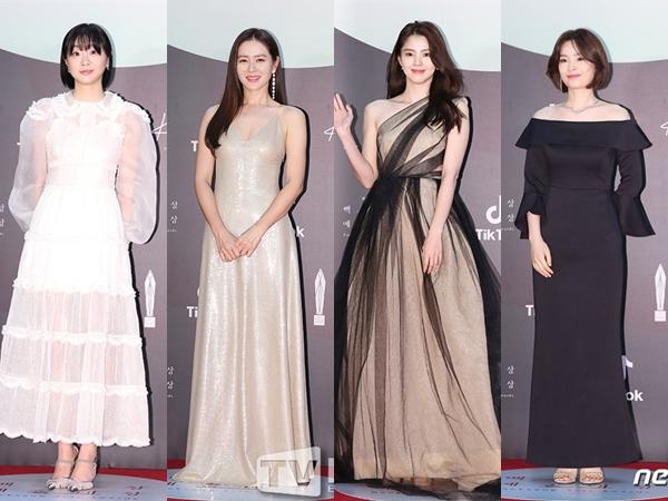 Intip Penampilan Terbaik Aktris Korea Hadiri 56th Baeksang Arts Awards