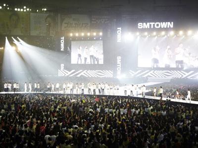 SMTOWN Jepang tampilkan Kolaborasi Dahsyat dari Para Artis SM Entertainment