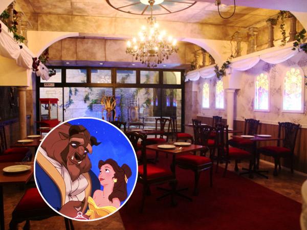 Rasakan Sensasi Makan yang Mewah dan Klasik A la Negeri Dongeng di Restoran Ini