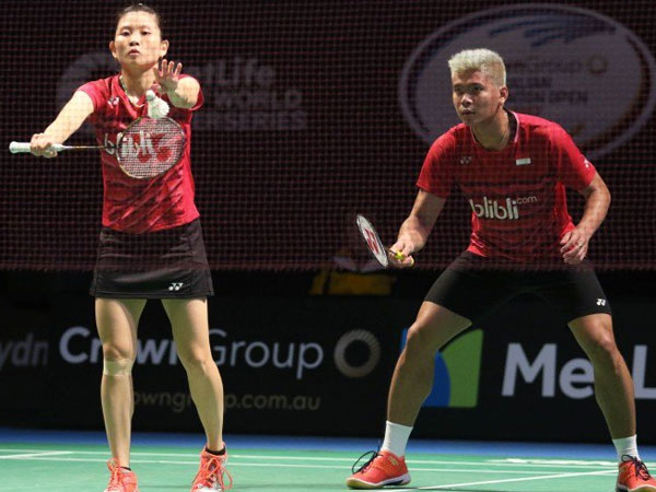 Ganda Campuran Bulutangkis Indonesia Gagal Raih Gelar Juara Australia Terbuka