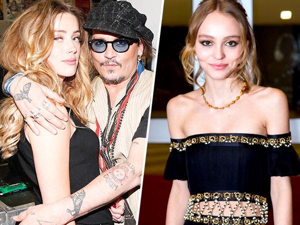 Dituduh Lakukan Pemukulan Pada Amber Heard, Lily-Rose Depp Bela Habis Sang Ayah