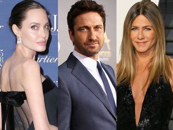 Antara Angelina Jolie dan Jennifer Aniston, Siapa Pencium Terbaik Menurut Gerald Butler?