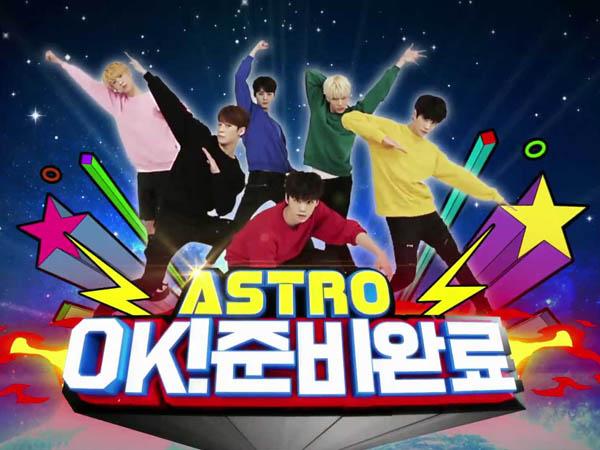 Siap Liat Keseruan Nyata dari ASTRO? Yuk, Intip Dulu Foto Teaser dari 'ASTRO OK! Ready'!