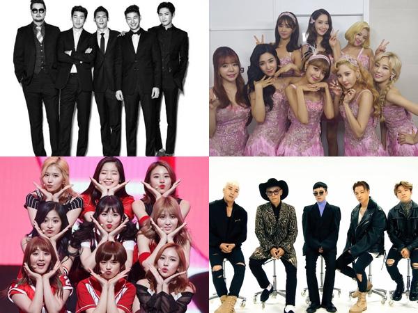 Berdasarkan Hasil Survey, Ini Dia Lagu dan Grup K-Pop Terbaik dalam 20 Tahun Terakhir