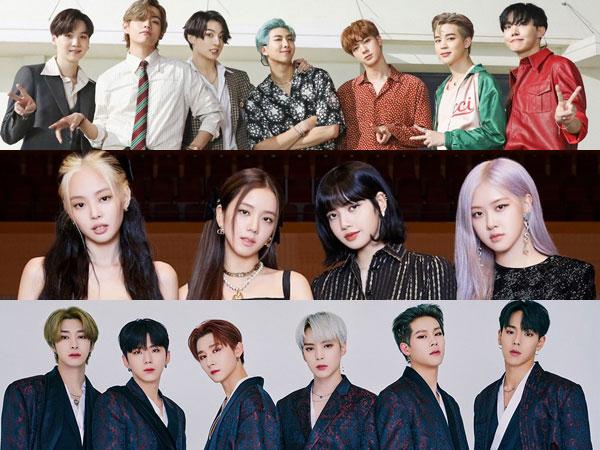 BTS, BLACKPINK, dan MONSTA X Bersaing Rebutkan Penghargaan Best Group di MTV VMA 2020