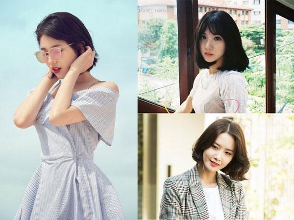 Yuk Tiru Model Gaya Rambut Pendek Ala 7 Artis Cantik Korea Ini