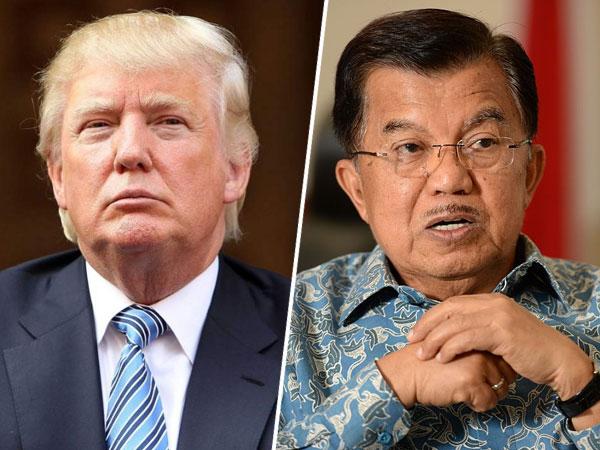 Donald Trump Sebut Indonesia Negara Curang, Ini Reaksi Wapres Jusuf Kalla