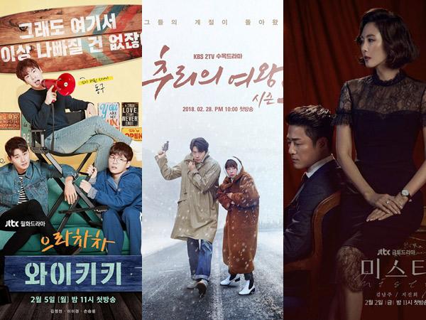 Bocoran 5 Drama Korea Terbaru yang Siap Tayang di Februari 2018