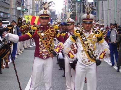 Wah, Drum Band Akpol Nyanyi Kopi Dangdut Di Jepang!