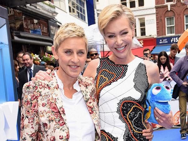 Selamatkan Pernikahan, Ellen DeGeneres dan Portia de Rosi Harapkan Kehadiran Anak?