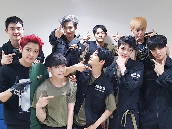 Jadi Photobomber, Ekspresi Member EXO Ini Buat Ngakak Netizen!