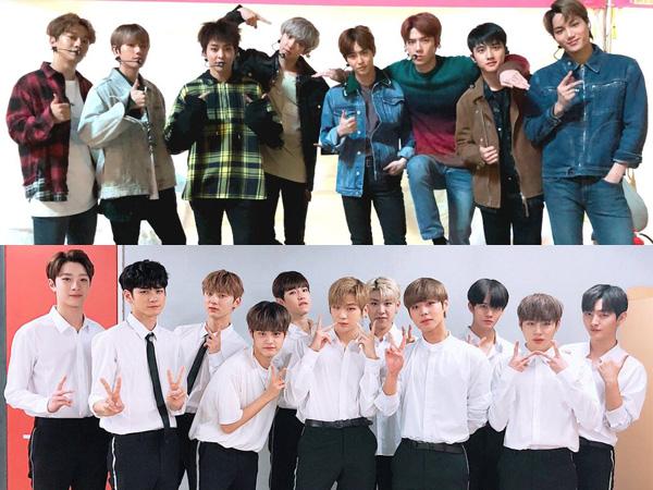 EXO vs Wanna One, Comeback November Diprediksi Panas dari Dua Grup Beda Generasi