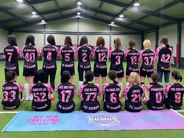 Muncul Tim Sepak Bola Member Girl Group, Netizen: Itu Agar Mereka Bisa Pacaran