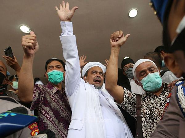 Habib Rizieq Pilih Buka-bukaan di Persidangan Dibanding Saat Pemeriksaan