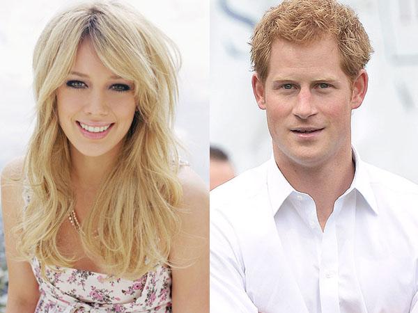 Diam-diam Hilary Duff Naksir Berat Dengan Pangeran Harry?