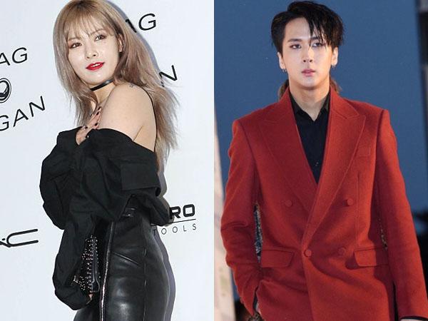 Tak Percaya, Netizen Lain Rilis Sanggahan Rumor Pacaran Hyuna 4Minute dan Ravi VIXX