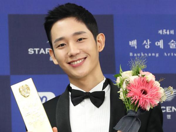 Menang Penghargaan, Jung Hae In Justru Dapat Kritikan Pedas Akibat Hal Ini di 'Baeksang Awards'