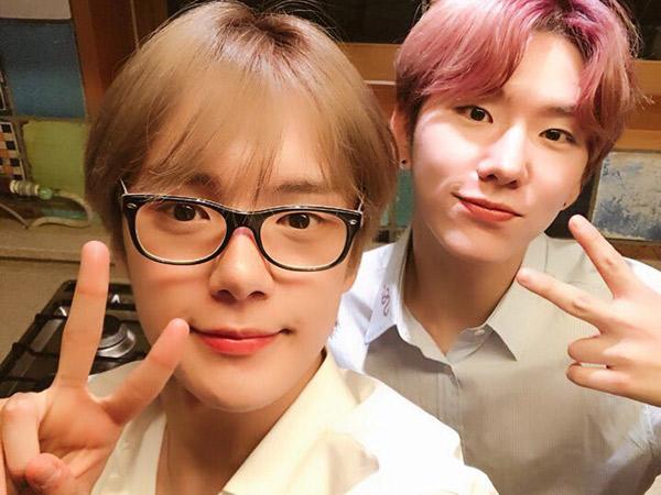 Minhyuk dan Kihyun Monsta X Berikan Semangat Ramadhan Buat Penggemar yang Berpuasa