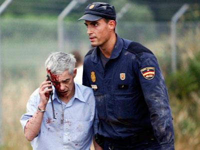 Saat Kecelakaan, Masinis Kereta Spanyol Tengah Bertelepon