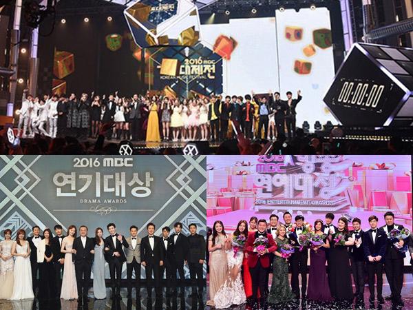 Duh, MBC Terancam Tidak Bisa Tayangkan Festival Musik Hingga Penghargaan Akhir Tahun