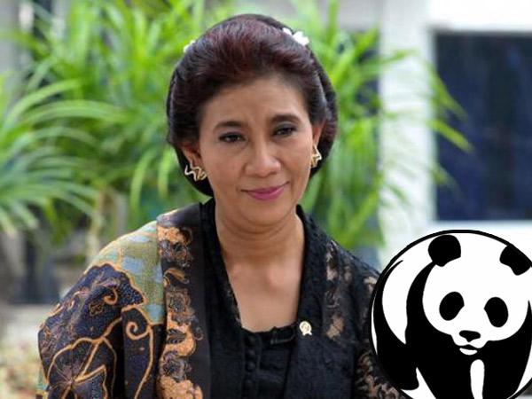Menteri Susi Dapat Penghargaan WWF Sebagai Penyelamat Bumi!