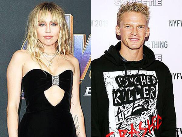Cepat Move On, Miley Cyrus Kepergok Jalan dengan Cody Simpson