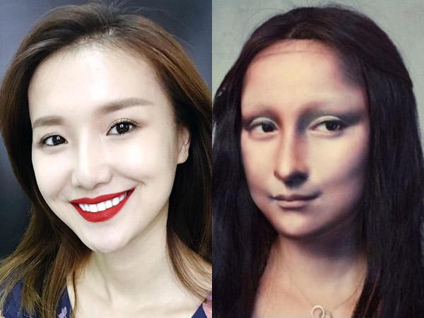 Viral Transformasi Wanita Make-Up Ala Mona Lisa, Mirip Banget Bikin Pangling!