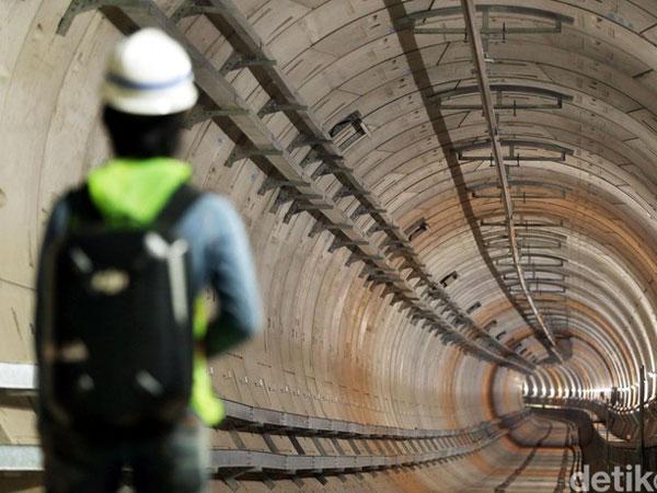 Menguak Penampakan Terowongan MRT yang Diklaim Mampu Bertahan hingga 100 Tahun