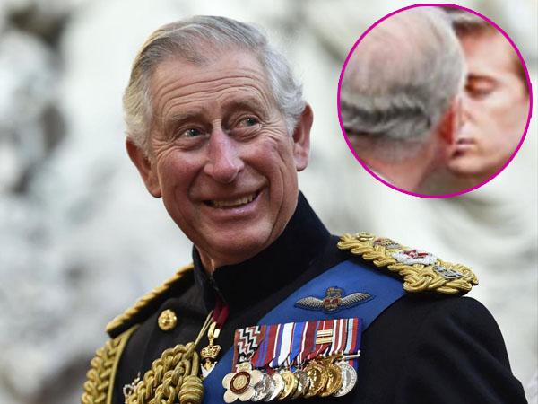 Foto Pangeran Charles Cium Pria Muda Bikin Heboh Keluarga Kerajaan Inggris dan Netizen!