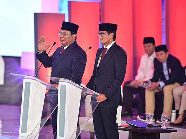 Selain Jokowi - Ma'ruf, Cek Juga Fakta Deretan Pernyataan Prabowo-Sandi di Debat Capres 2019